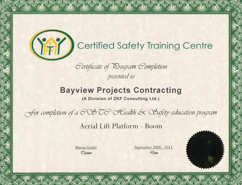 About Bayview Projects Contracting | Toronto Contractors