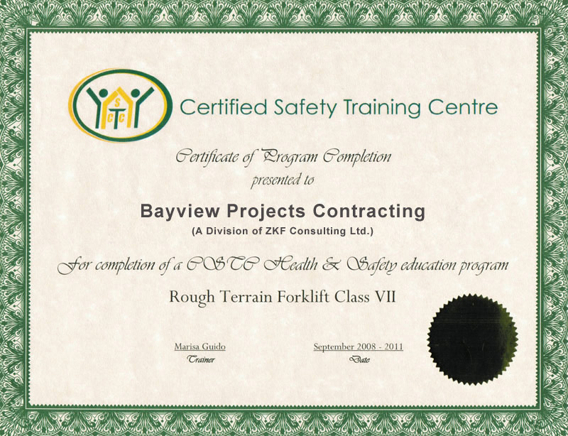 About Bayview Projects Contracting Toronto Contractors